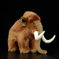 Mammuthus primigenius Manny mammoth plush toy stuffed animal dolls kids gift 33cm toys for children
