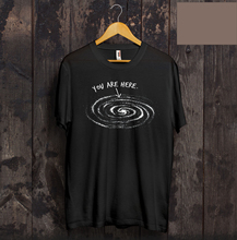 You Are Here T Shirt Astronaut Galaxy Milky Way Solar System Gift Space X Falcon New Tops 2018 Print Letters Men T-Shirt S-3xl