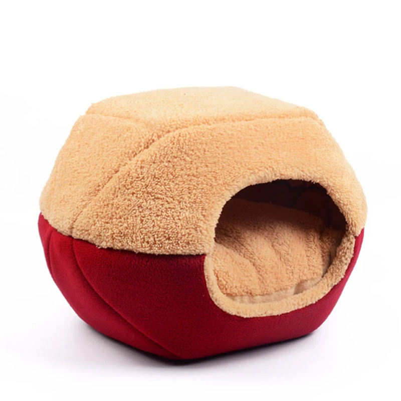Flodable Dog Bed House Cushion Dog House Mat Cat Bed Cat House Warm Multifunctional Mat Kennel Pet Puppy Bed Sofa Totoro Bed