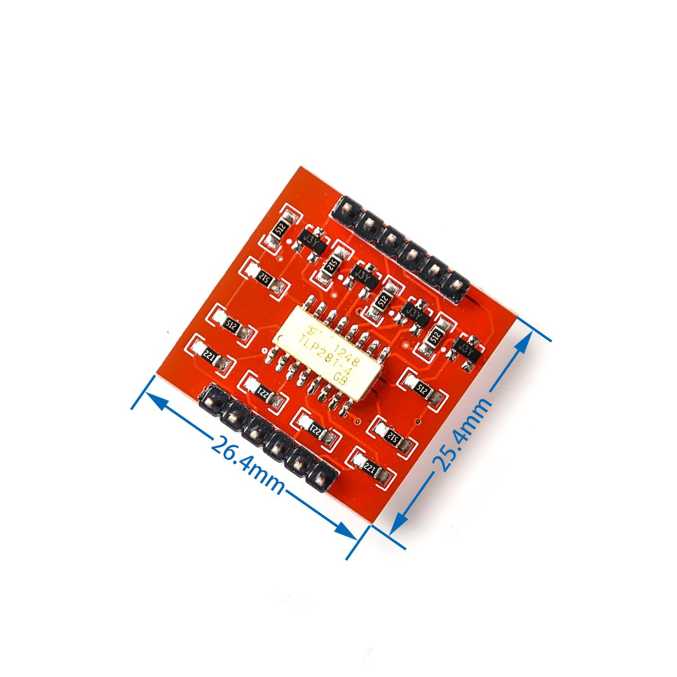 Integrated Circuits Tlp281 4 Ch 4-channel Opto-isolator Ic Module For Arduino Expansion Board High And Low Level Optocoupler Isolation 4 Channel Supplement The Vital Energy And Nourish Yin Active Components