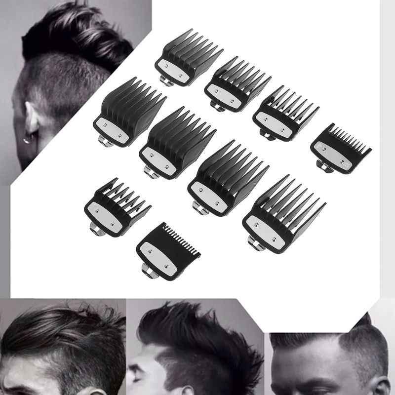 1pc plastikowa maszynka do strzyżenia włosów Limit grzebień przewodnik rozmiar mocowania fryzjer wymiana przybory do stylizowania włosów