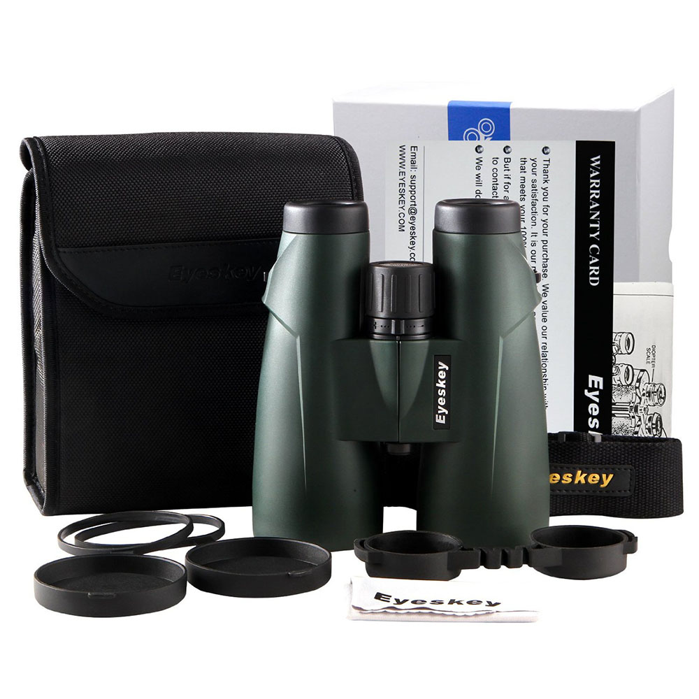8x56 Eyeskey Professional Large Objective Lens HD Binoculars Waterproof Camping Hunting Binocular Telescope Bak4 Prism Optics