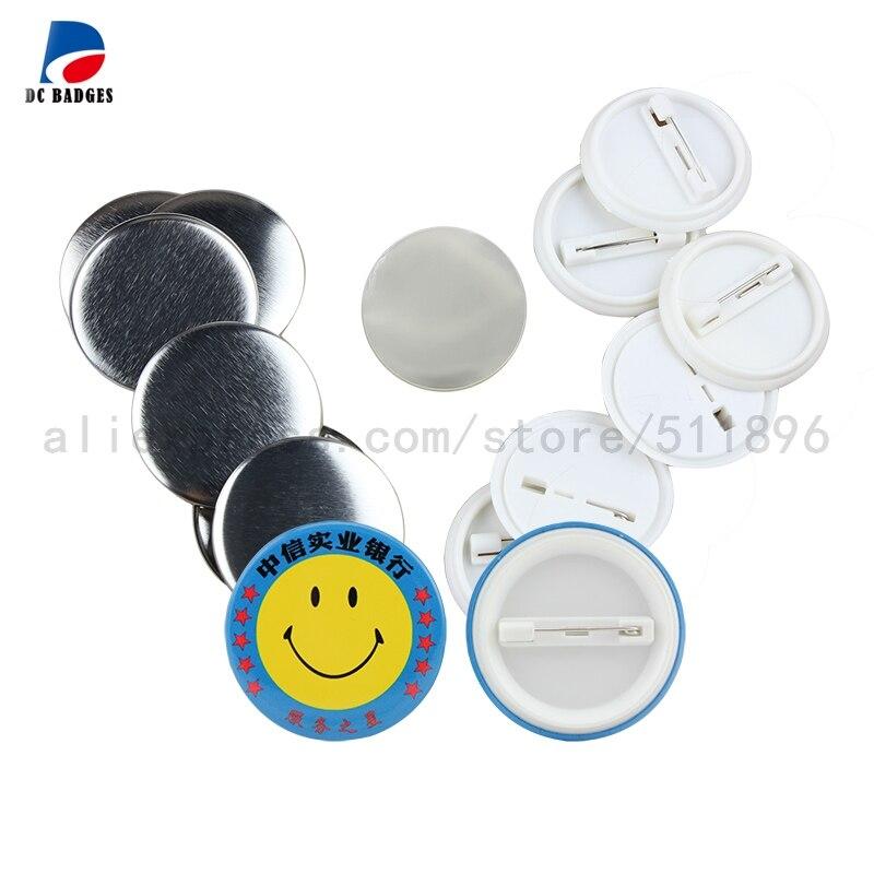 0c5bd579489 DC Dongcheng Seluruh Penjualan 1.5 37mm 5000 set Pinback Tombol Bahan  Plastik
