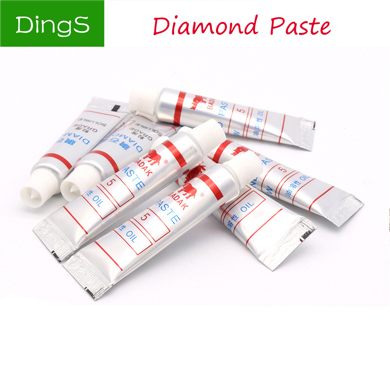 1pcs W0.5 ~40 Diamond Grinding Polishing Paste Lapping Compound Metal Glass Jade Amber Buffing Abrasive Tools