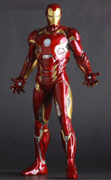 Iron Man Mark XLV MK45 1 6 Scale Painted PVC Action Figure Collectible Model Toy 12