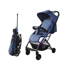 Baby stroller mini lightweight cart Portable Folding Baby carriage can sit can lie Baby trolley Baobaohao цены онлайн