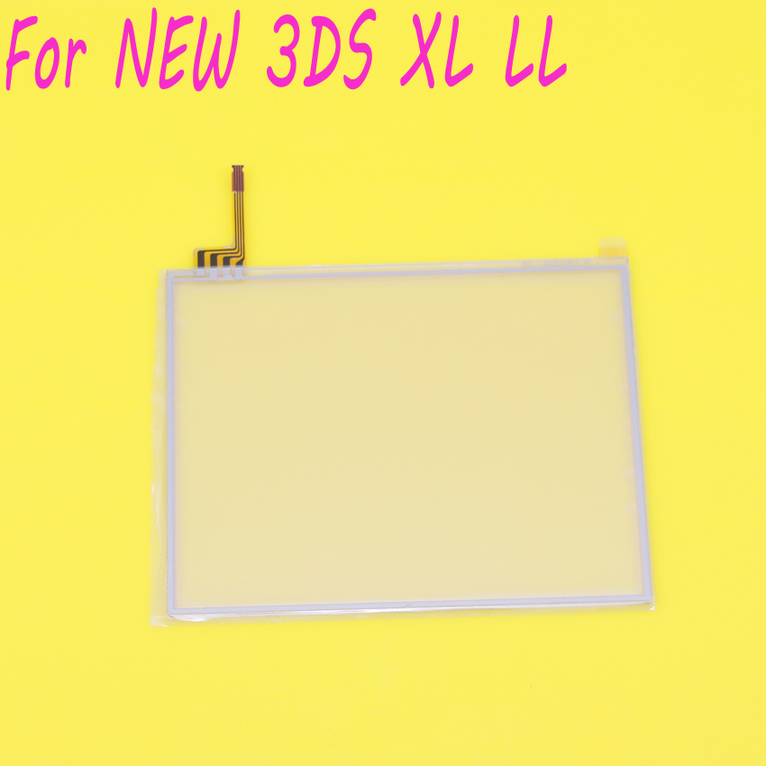 JCD  For New 3DS XL Touch Screen Digitizer Bottom Glass Replacement Parts