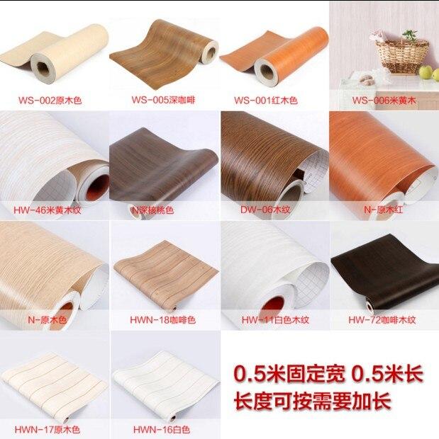 Muebles de pared imitación madera etiqueta puerta del armario capa ...