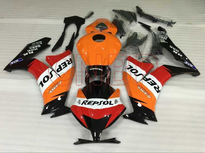 Admirable Fairings For Honda Cbr1000Rr 2012 2014 Repsol Full Body Kits Inzonedesignstudio Interior Chair Design Inzonedesignstudiocom