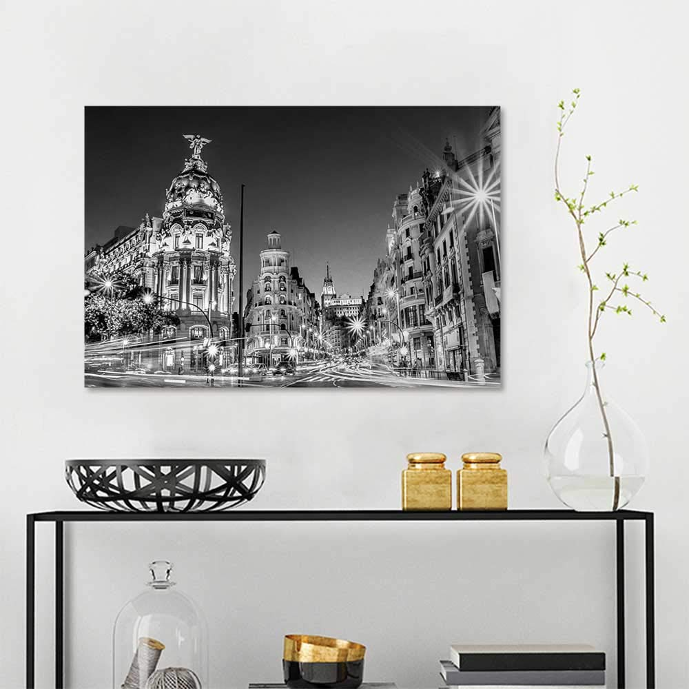 Black And White Madrid us $2.89 28% off|5d diy diamond painting