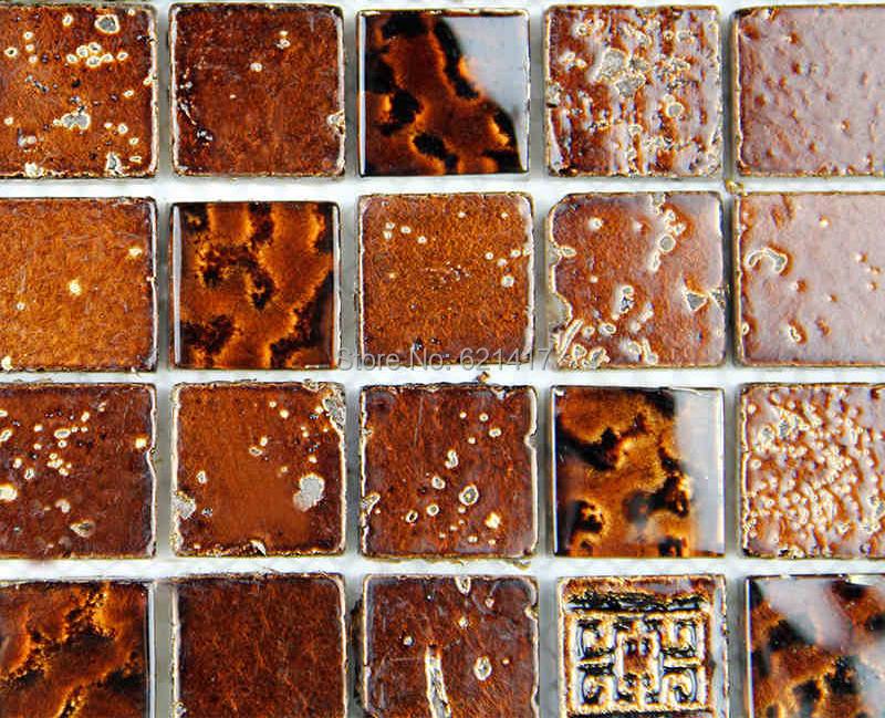 braun marmor fliesen-kaufen billigbraun marmor fliesen partien aus ... - Bad Mit Mosaik Braun