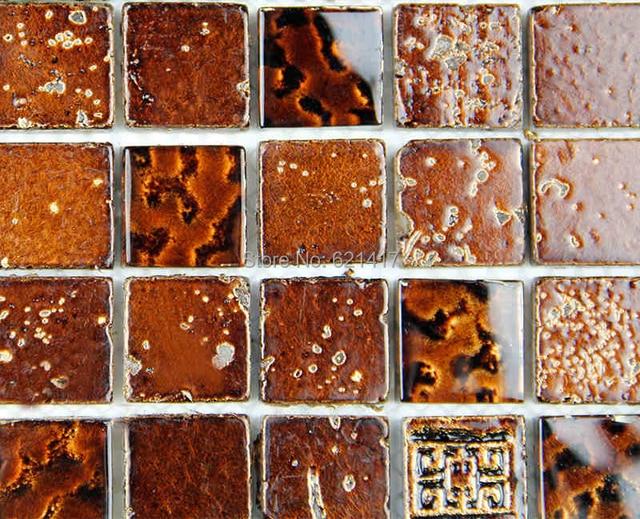 Badkamer Tegels Bruin : Vintage bruin marmeren steen mozaïek tegels voor badkamer douche