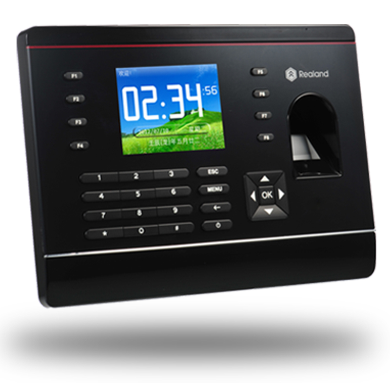 Realand A-C061 USB U Disk TCP/IP Fingerprint Time Attendance  Network Attendance System zksoftware f8 fingerprint time attendance system w tcp ip black