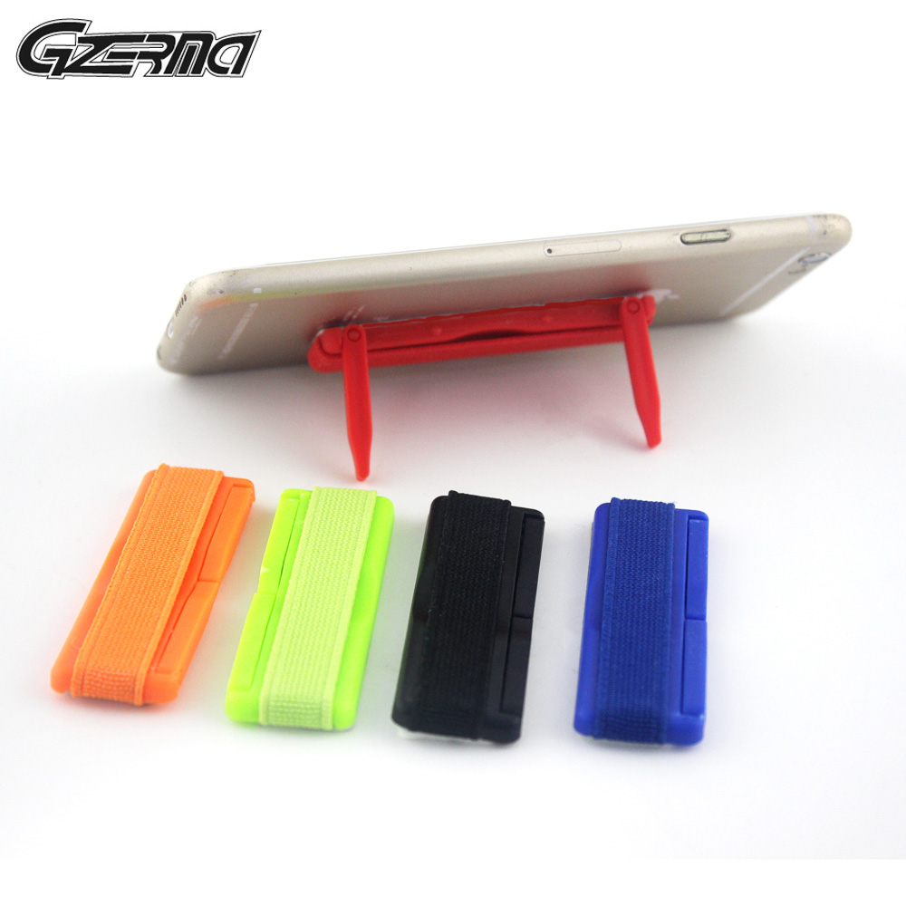 Universal Finger Grip Elastic Band Strap Anti Slip Phone Holder Stand For Apple iPhone Samsung Huawei Mobile Phone For Tablet