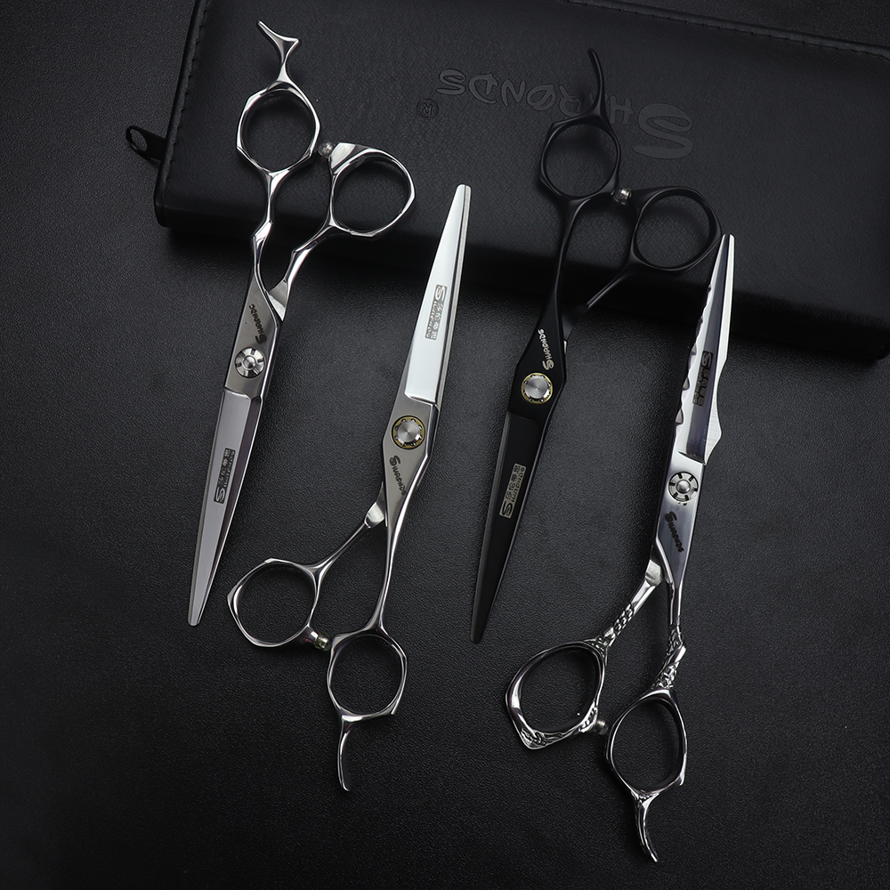 Купить с кэшбэком Hairdresser Haircut Scissors Set 6 Inch Hair Scissors Professional Genuine Barber Shop Special Shears Hair Clippers