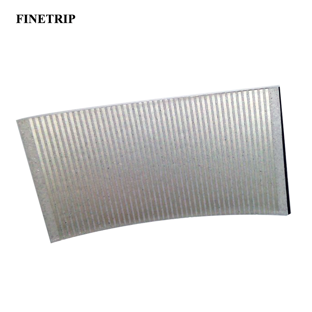 FINETRIP 5*2.5cm Wholesale Silver Flat Cables For BMW E34 Pixel 5 Series Ribbon Cable Speedometer Instrument Repair Dead Pixels(China)