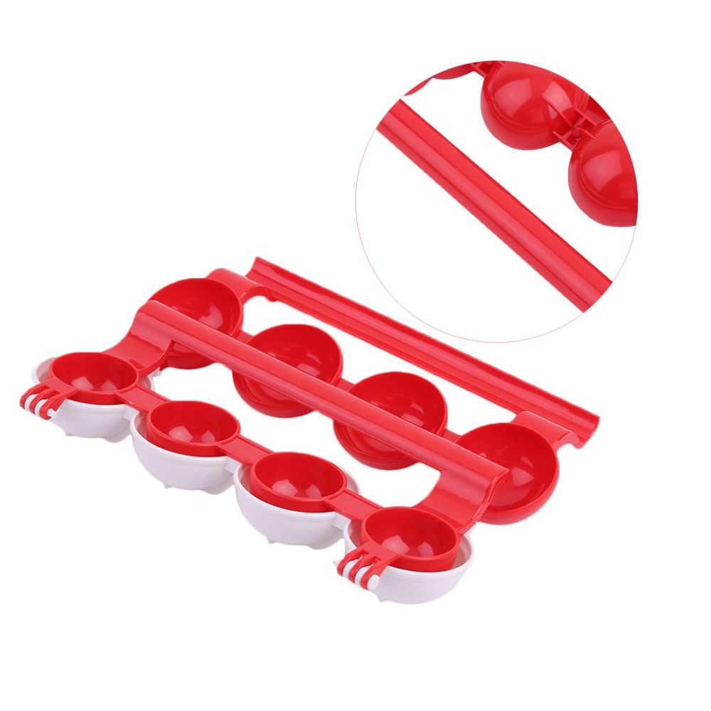 Specjalne domowe akcesoria kuchenne plastikowa maszyna do robienia klopsików kulki rybne formy DIY nadziewane klopsiki narzędzie do gotowania