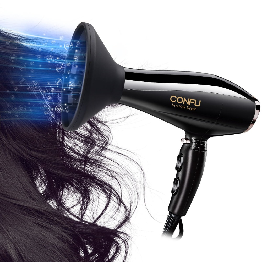 CONFU 2 speed and 3 heat settings Hair dryer 220-240V 50Hz 2000-2300W handheld hair dryer Special cool & heat shot function