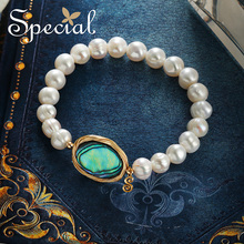 The SPECIAL New Fashion euramerican natural pearl bracelet flatter hand bracelets for women  S1819C