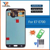 100 Super AMOLED LCD Screen For Samsung Galaxy E7 E700 E700F E7000 E7009 LCD Display Touch