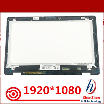 "15.6"" For Dell Inspiron 15 7558 7568 7000 NV156FHM-A11 Laptop LCD Touch Screen Glass Digitizer Display Panel Assembly 1920*1080"