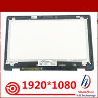 15.6 For Dell Inspiron 15 7558 7568 7000 NV156FHM A11 Laptop LCD Touch Screen Glass Digitizer Display Panel Assembly 1920*1080