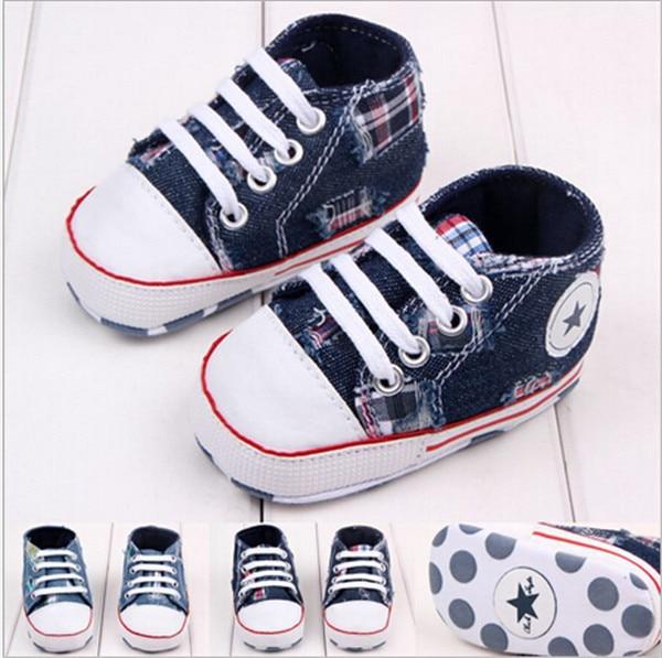 """2015 m. """"Baby Soft Bottom Prewalker Shoes"""" berniukų mergaičių sportiniai bateliai """"First Walkers"""" vaikiški batai """"Lace-Up"""" batai """"Sapatos"""""""