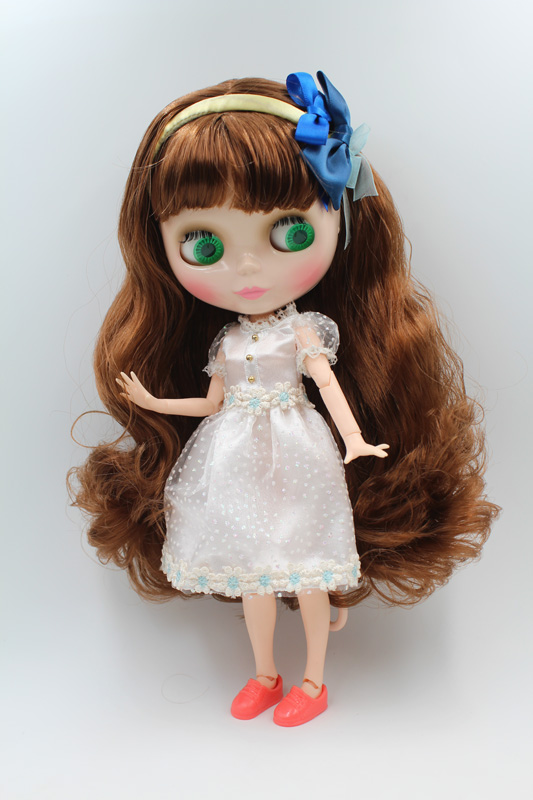 Free Shipping Top discount JOINT DIY Nude Blyth Doll item NO. 207J Doll limited gift special price cheap offer toy USA for girl free shipping big discount rbl 11 15 diy nude blyth doll birthday gift for girl 4 colour big eyes with beautiful hair cute toy