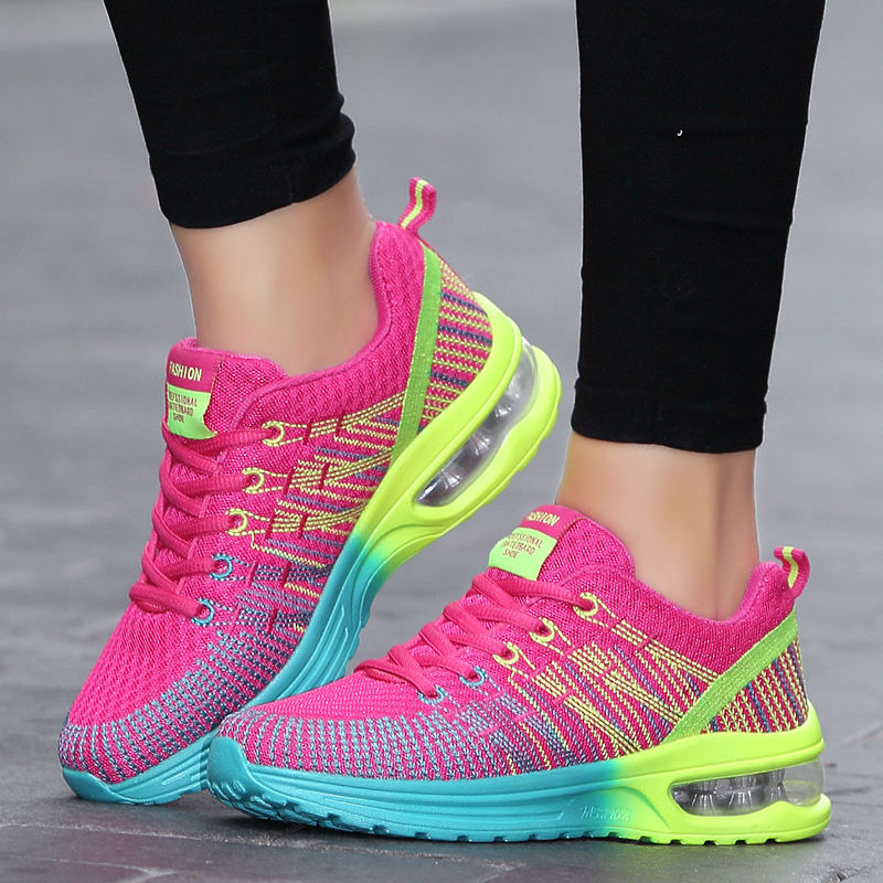 PINSV Krasovki Women Sneakers Sports Shoes Summer Running Shoes For Women Air Mesh Shoes Athletic Woman Jogging Walking Athletic