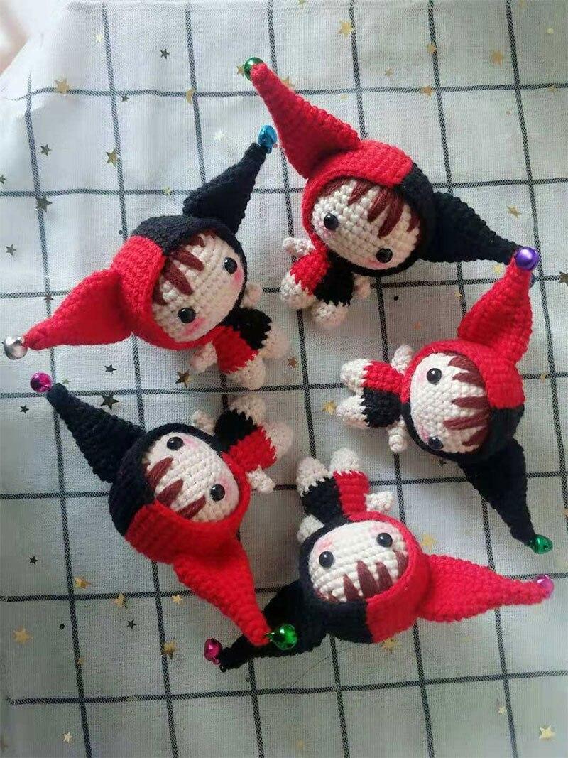 Mister Clown Crochet Pattern By HavvaDesigns© No.1 Crochet Patterns | 1067x800