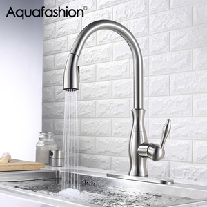 Kitchen Faucets Brushed Nickel