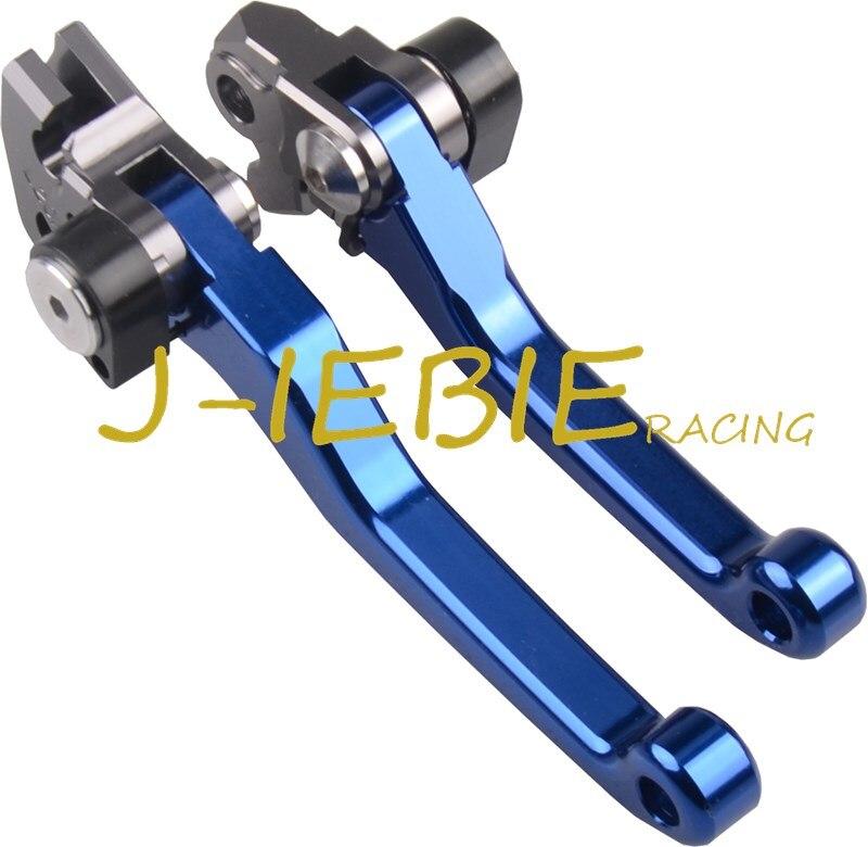 купить For Yamaha TRICKER 2004-2016 TTR250 1993-1997 WR250R/X 2007-2017 Pivot Foldable Brake Clutch Levers дешево