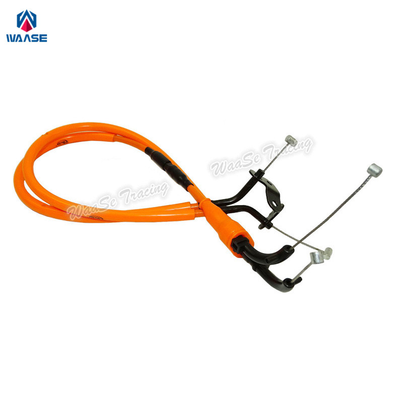 waase 1 Pair Throttle Cable Steel Wire For Yamaha YZF R1 2007 2008 leshp 1 pair steel wire fishing fillet