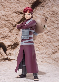 15cm Anime Naruto Shippuden Gaara SHF Collection Action Figure Toys
