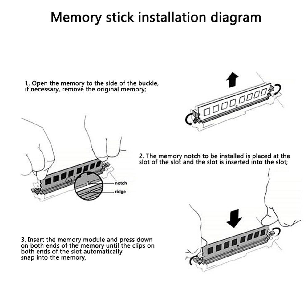 4GB 8GB 4G 8G PC Память RAM Memoria модуль компьютерная настольная DDR3 DDR4 4GB 8GB 16GB 1600MHZ 2400mhz карта памяти игровая панель