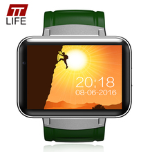 Wholesale prices TTLIFE DM98 Bluetooth GPS Smart Watch Men Women 2.2 inch Android  iOS watches Phone Dual Core 1.2GHz 4GB ROM Camera Relogio
