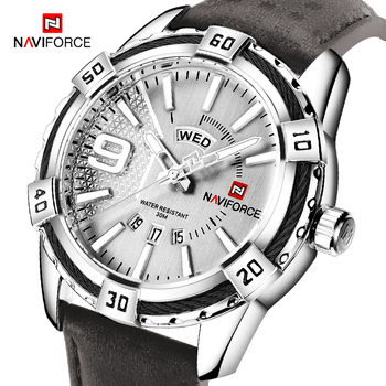 New NAVIFORCE Men Watches Fashion Quartz Wrist Men's Military Waterproof Sports Watch Male Date Clock Relogio Masculino - discount item  50% OFF Men's Watches