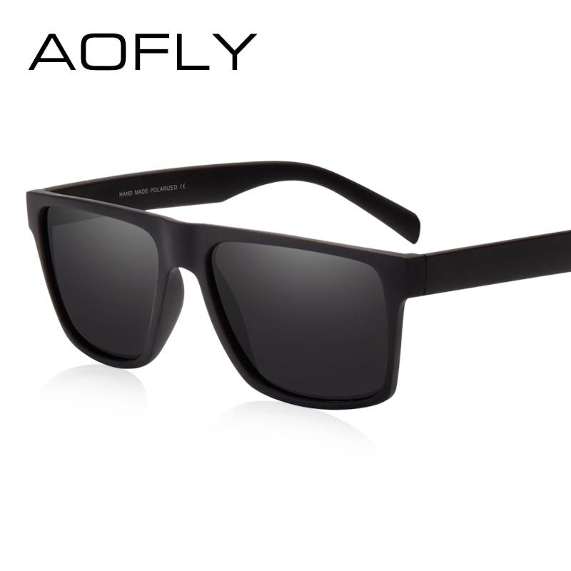 Aofly merk classic zwart gepolariseerde zonnebril mannen rijden - Kledingaccessoires - Foto 2