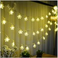 10M 100LEDs Snow Led String AA battery powered multicolor LED string lights Christmas Lights holiday wedding party decoration