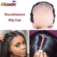 Best MONO Wig Caps For Making Wigs 1 Piece Factory Sale Monofilament Wig Cap Medium Size