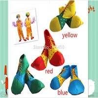 Halloween Cosplay Shoes Clown Performance Wear Accessories Clown Shoes Costumes Of Clowns Clothes Dress Christmas Party