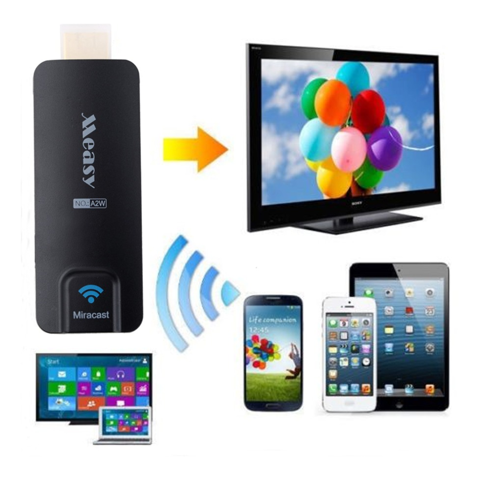 Miracast TV AirPlay Dongle DLAN Airplay HDMI WIFI for Tablet or Laptop onto HDTV PC Android OS WINDOWS XP/7/8/8.1 MAC