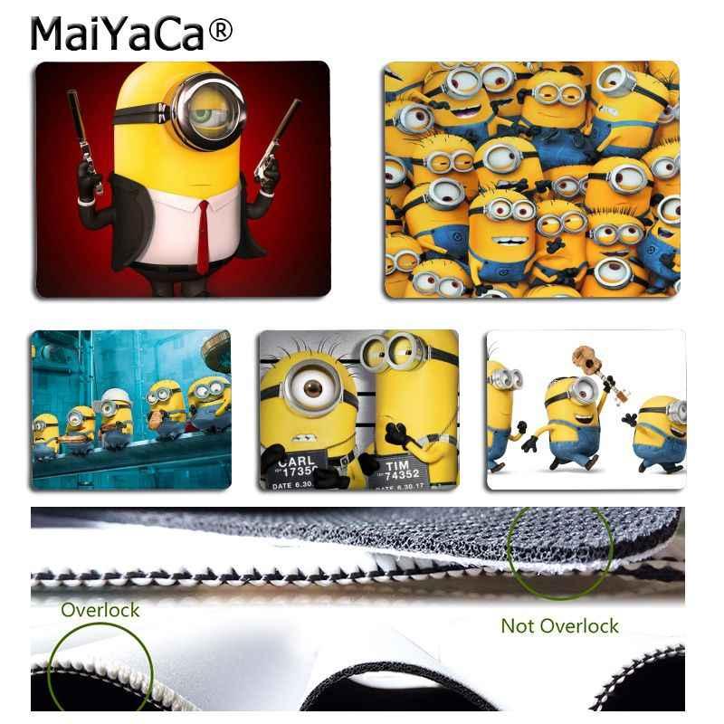 MaiYaCa nuevos diseños minions, plátanos ordenador alfombrilla de ratón Gaming diseño Simple velocidad mouse pad para juegos