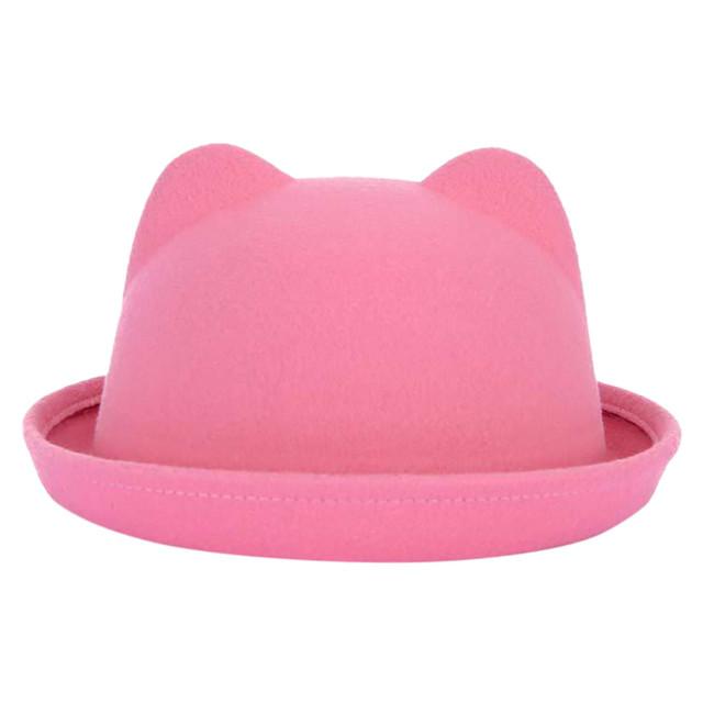 Women's Cat Themed Wool Hat