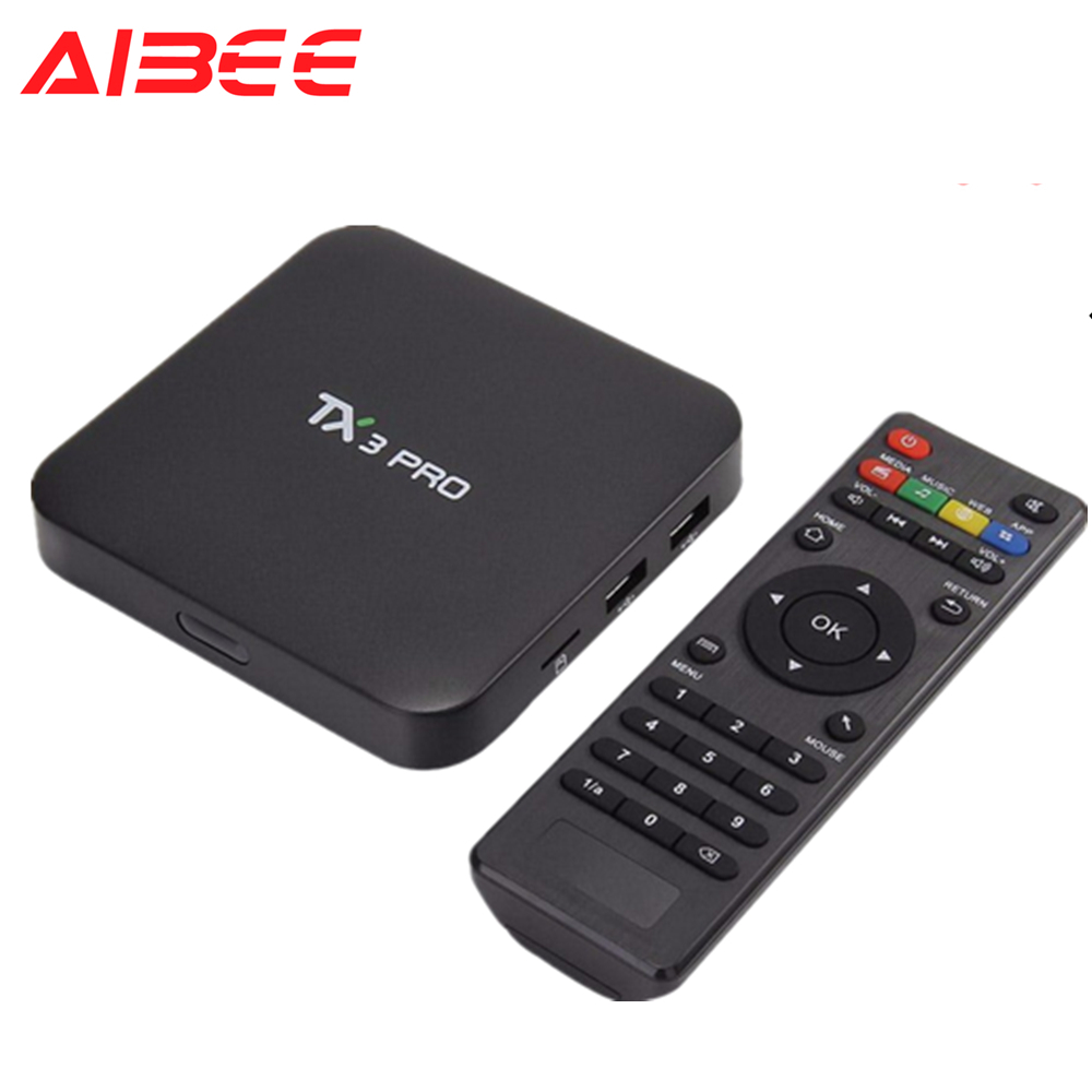 TX3 Pro Amlogic S905W 1G 8G Quad Core android 7 1 HD S905W smart tv box