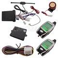 En Stock Venta Caliente de 2 vías Sistema de Alarma de La Motocicleta Con Mando A Distancia Remoto de Arranque del motor y de Dos Vías LCD Colorido Sensor de Microonda!