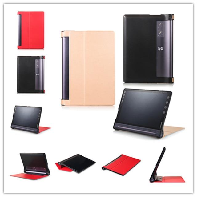 Тонкий Кастер pattern PU Кожаный Чехол Чехол Для Lenovo Yoga Tab3 плюс 10.1 YT-X703 tablet чехол для LLenovo Yoga TAB 3 X90F/X90L