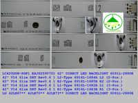"LED Backlight สำหรับ LG 42 ""ทีวี V14 Slim DRT Rev0.6 6916L 1682A 1684A 1683B 1685B LC420DUH LG42LB673 42LY970H 42LB700V 42LB671V"