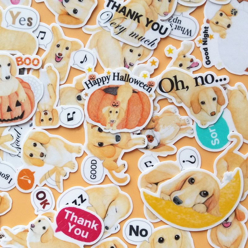 40pcs Creative Cute kawaii self-made dogs scrapbooking diary /decorative stickers/DIY craft photo albums машинки tomy трактор john deere monster treads с большими резиновыми колесами tomy