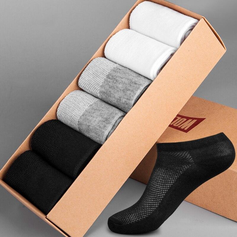 Blue vintage feathers mens socks retro skin-friendly compression socks Fashion Original short socks Unisex